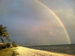 Rainbow at Ewa Beach
