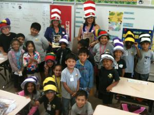 Reading at schools across Hawaii with the Read Aloud America program