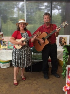 Carol Dabney and Rod Ragsdale will be playing interactive music with children again August 3 and August 10th and 10am and 11am at the Hillary Clinton Children's Library.