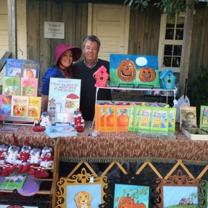 Carol Dabney and Rod Ragsdale books, music and Pumpkin watercolor art