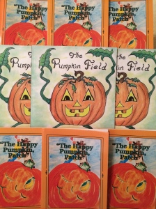 Pumpkin books by local children's authors